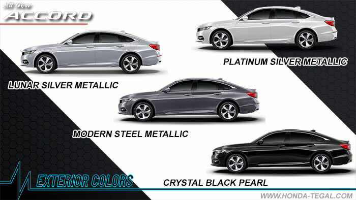 Pilihan Warna All New Accord